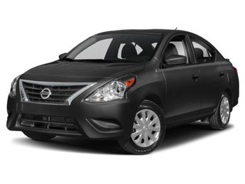 2019 Nissan Versa Sedan S Plus Automatic (CVT) Regular Unleaded I-4 1.6 L/98 Engine 4 Door Sedan FWD