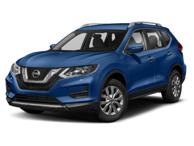 2019 Caspian Blue Metallic Nissan Rogue SV AWD Automatic (CVT) SUV 4 Door Regular Unleaded I-4 2.5 L/152 Engine
