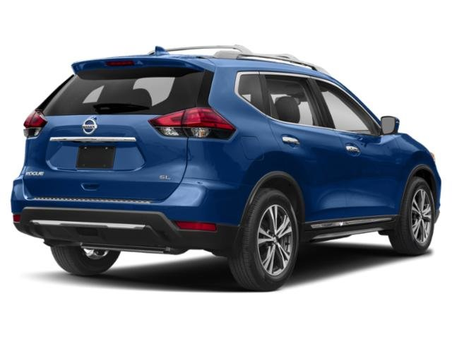2019 Caspian Blue Metallic Nissan Rogue SV 4 Door SUV Automatic (CVT) AWD