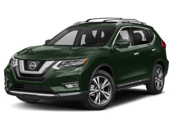 2019 Midnight Pine Metallic Nissan Rogue SL SUV Automatic (CVT) Regular Unleaded I-4 2.5 L/152 Engine 4 Door