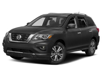 2019 Gun Metallic Nissan Pathfinder SL SUV 4X4 Automatic (CVT) Regular Unleaded V-6 3.5 L/213 Engine