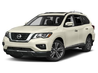2019 Pearl White Tricoat Nissan Pathfinder SL SUV 4 Door 4X4 Automatic (CVT) Regular Unleaded V-6 3.5 L/213 Engine