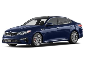 2019 Horizon Blue Kia Optima S Regular Unleaded I-4 2.4 L/144 Engine FWD Sedan