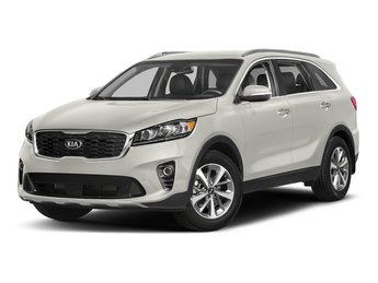2019 Snow White Pearl Kia Sorento SX V6 SUV Automatic 4 Door Regular Unleaded V-6 3.3 L/204 Engine
