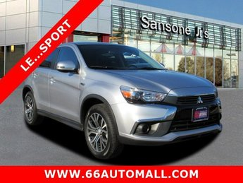 2017 Cool Silver Metallic Mitsubishi Outlander Sport LE 2.0 Regular Unleaded I-4 2.0 L/122 Engine Automatic (CVT) FWD 4 Door SUV
