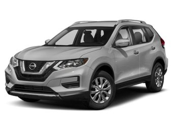 2019 Brilliant Silver Metallic Nissan Rogue SV SUV 4 Door AWD