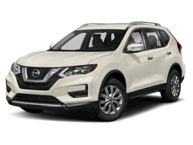 2019 Glacier White Nissan Rogue SV SUV AWD Automatic (CVT) 4 Door