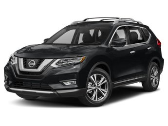 2019 Magnetic Black Pearl Nissan Rogue SV 4 Door Regular Unleaded I-4 2.5 L/152 Engine AWD