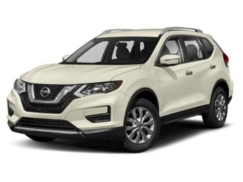 2019 Pearl White Tricoat Nissan Rogue SV FWD 4 Door Regular Unleaded I-4 2.5 L/152 Engine SUV