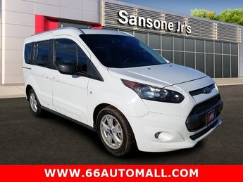 2015 Frozen White Ford Transit Connect Wagon XLT Regular Unleaded I-4 2.5 L/152 Engine FWD Van