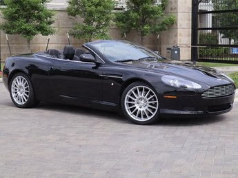 2008 Aston Martin DB9 Volante Convertible 6.0L V12 DOHC Engine 2 Door Automatic RWD