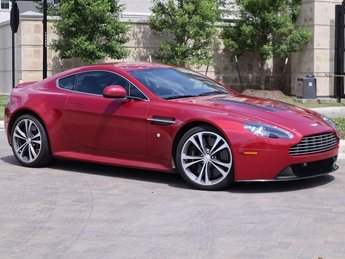 2011 Magma Red Aston Martin V12 Vantage Base Coupe RWD 2 Door