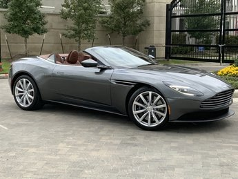 2019 Aston Martin DB11 Volante 4.0L V8 Engine Convertible 2 Door RWD