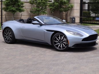 2019 Aston Martin DB11 Volante RWD Automatic 4.0L V8 Engine 2 Door Convertible