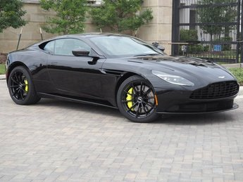 2019 Onyx Black Aston Martin DB11 AMR Turbocharged DOHC Engine RWD Automatic