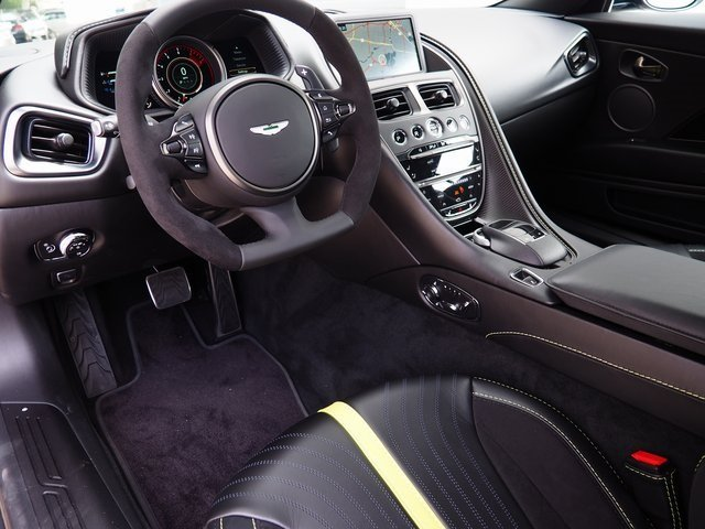 2019 Onyx Black Aston Martin DB11 AMR RWD Car Turbocharged DOHC Engine Automatic 2 Door