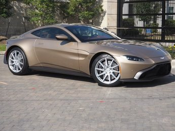 2019 Selene Bronze Aston Martin Vantage Base 2 Door Automatic V8 Engine RWD