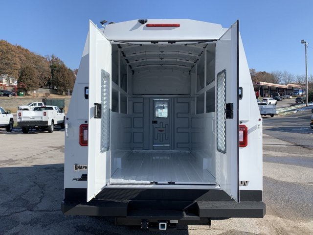 2019 Summit White GMC Savana Commercial Cutaway Work Van Gas V8 6.0L/364 Engine RWD Automatic Car 2 Door