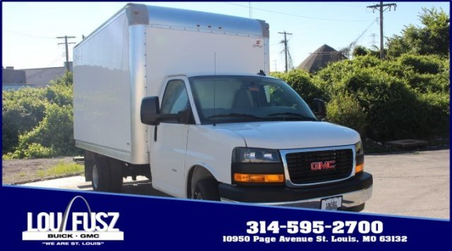 2019 Summit White GMC Savana Commercial Cutaway Work Van RWD Specialty Vehicle Cutaway 2 Door Gas V8 6.0L/364 Engine Automatic
