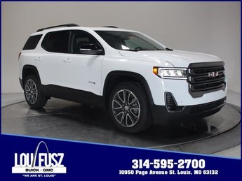 2020 Summit White GMC Acadia AT4 SUV Automatic 4 Door Gas V6 3.6L/223 Engine