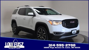 2019 Summit White GMC Acadia SLT SUV Gas V6 3.6L/223 Engine FWD 4 Door