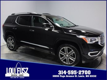 2019 Ebony Twilight Metallic GMC Acadia Denali AWD Automatic Gas V6 3.6L/223 Engine 4 Door