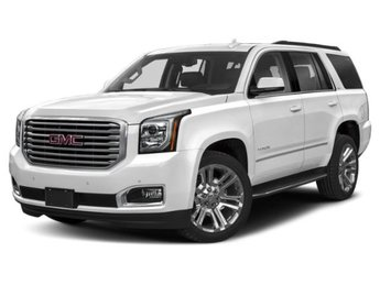 2020 Dark Sky Metallic GMC Yukon SLT 4X4 Gas V8 6.2L/376 Engine Automatic