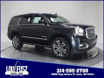 2020 Carbon Black Metallic GMC Yukon Denali Gas V8 6.2L/376 Engine 4 Door Automatic