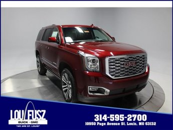 2018 Crimson Red Tintcoat GMC Yukon Denali Gas V8 6.2L/376 Engine 4X4 Automatic 4 Door SUV