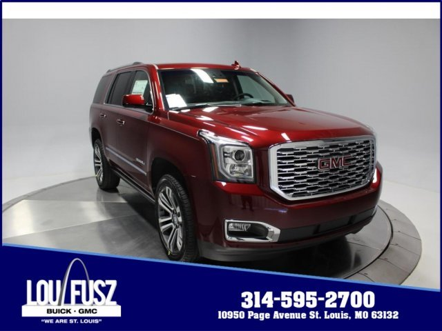 2018 Crimson Red Tintcoat GMC Yukon Denali 4X4 Automatic 4 Door SUV