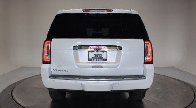 2020 White Frost Tricoat GMC Yukon Denali Automatic Gas V8 6.2L/376 Engine 4 Door SUV