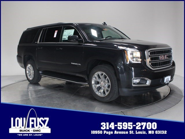 2020 Carbon Black Metallic GMC Yukon XL SLE Automatic 4X4 4 Door
