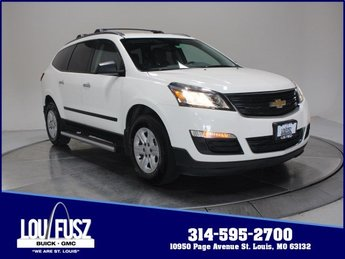 2015 Chevy Traverse LS Gas V6 3.6L/217 Engine 4 Door SUV Automatic FWD