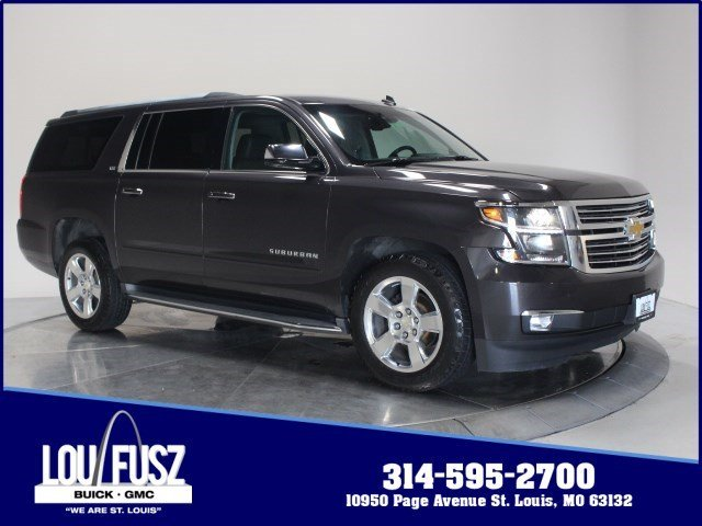 Used 2015 Chevy Suburban LTZ 4X4 SUV For Sale In St  Louis