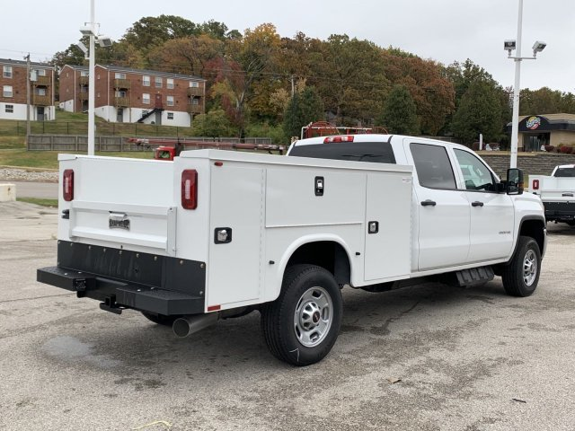 2019 Summit White GMC Sierra 2500HD Base RWD Truck 4 Door Turbocharged Diesel V8 6.6L/403 Engine Automatic