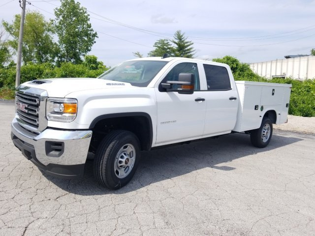 2019 Summit White GMC Sierra 2500HD Base 4 Door Truck Automatic RWD