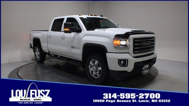 2018 GMC Sierra 2500HD SLT Automatic Turbocharged Diesel V8 6.6L/403 Engine 4 Door