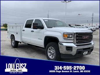2019 GMC Sierra 3500HD Base Truck 4X4 Automatic Gas/Ethanol V8 6.0L/366 Engine 4 Door