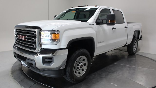 2019 Summit White GMC Sierra 3500HD Base 4X4 Automatic Truck 4 Door Gas/Ethanol V8 6.0L/366 Engine