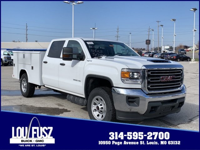 2019 Summit White GMC Sierra 3500HD Base Truck 4X4 Turbocharged Diesel V8 6.6L/403 Engine 4 Door Automatic