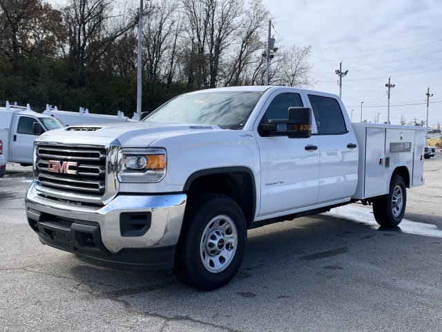 2019 Summit White GMC Sierra 3500HD Base Truck Automatic 4X4 4 Door Turbocharged Diesel V8 6.6L/403 Engine