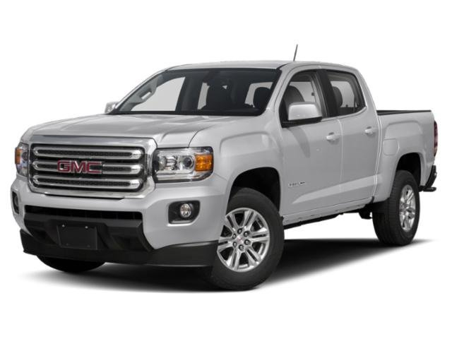 2019 Satin Steel Metallic GMC Canyon 4WD SLE Truck Gas V6 3.6L/222 Engine 4 Door Automatic