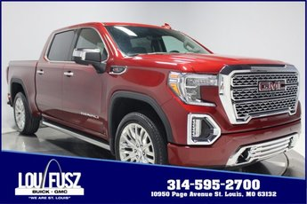 2019 Red Quartz Tintcoat GMC Sierra 1500 Denali Automatic Gas V8 6.2L Engine Truck 4X4 4 Door