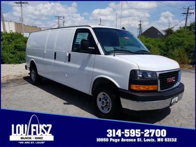 2019 GMC Savana Cargo Van Work Van RWD Automatic Gas V6 4.3L/ Engine 3 Door Van