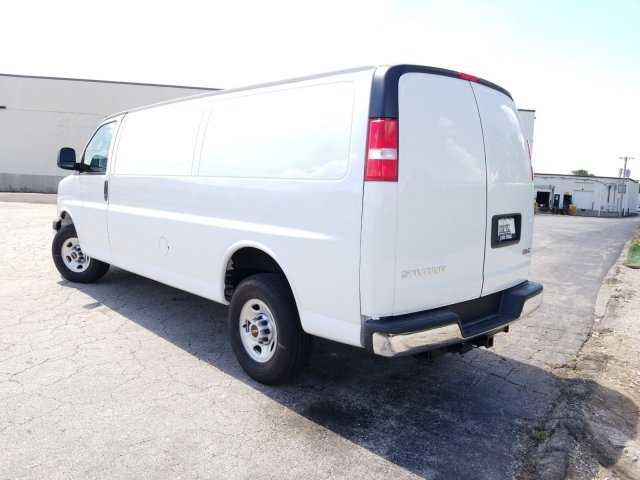 2019 Summit White GMC Savana Cargo Van Work Van RWD Automatic Van