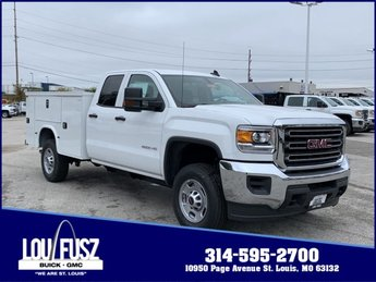 2019 Summit White GMC Sierra 2500HD Base 4 Door Gas/Ethanol V8 6.0L/366 Engine Automatic