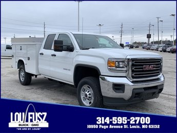 2019 Summit White GMC Sierra 2500HD Base Automatic Gas/Ethanol V8 6.0L/366 Engine Truck 4X4 4 Door