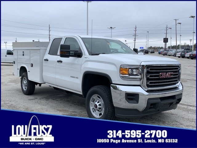 2019 Summit White GMC Sierra 2500HD Base 4 Door 4X4 Automatic Gas/Ethanol V8 6.0L/366 Engine Truck