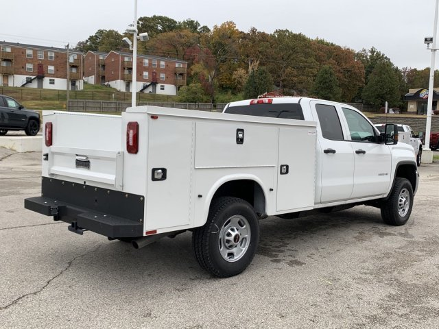 2019 Summit White GMC Sierra 2500HD Base 4 Door Automatic Truck 4X4 Gas/Ethanol V8 6.0L/366 Engine