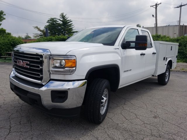 2019 Summit White GMC Sierra 2500HD Base 4X4 4 Door Automatic Gas/Ethanol V8 6.0L/366 Engine